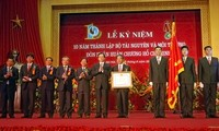 Ministry of Natural Resources and Environment marks 10th founding anniversary