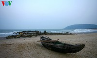 Primary beauty of Hoanh Son Beach