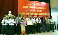 Nhan Dan online newspaper marks 15th founding anniversary