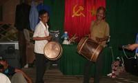 Duet drum dance of the Cham H'roi