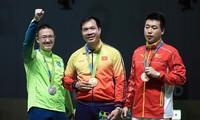 Shooter Hoang Xuan Vinh wins historic gold medal at Rio Olympics 2016