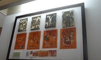 Kim Hoang folk paintings