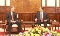 President Tran Dai Quang receives outgoing Moroccan Ambassador