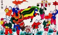 Hang Trong folk paintings