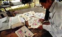 Folk paintings of Sinh village