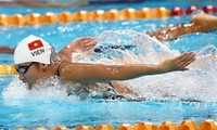 Vietnam wins one gold, two bronze medals at Asian Swimming Championships