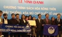 Vietnam awards UNSECO-recognized Books for Rural Areas of Viet Nam Program