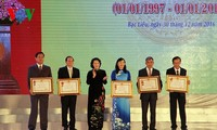 Bac Lieu province celebrates 20 years of reestablishment