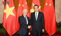 Party leader meets Chinese Premier