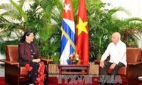 Vietnam, Cuba boost relations between National Assemblies, peoples