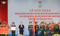 President bestows Hero of the People's Armed Forces title on Hai Phong border guards