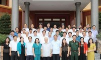 Party General Secretary pays working visit to Bac Kan