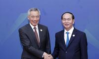 President receives leaders of APEC member economies