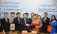 Ho Chi Minh City, Busan forge closer ties