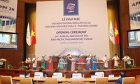 Parliament role promoted in Asia-Pacific Economic Cooperation Forum