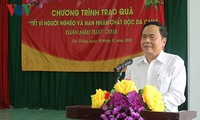 VFF President pays Tet visit to policy beneficiaries in Soc Trang