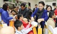 Charity activities ahead of Tet