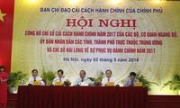Quang Ninh tops provincial administrative reform index 2017