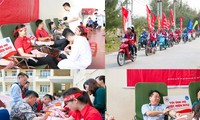 Red Journey blood donation campaign continues in provinces
