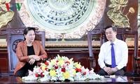 NA Chairwoman asks Bac Lieu to develop wind energy