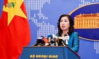 Vietnam protests China's celebrations of so-called Sansha city's 6th anniversary