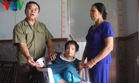Helping hands landed to Agent Orange/Dioxin victims