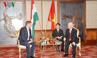 Party chief's visit aims to deepen traditional ties with Hungary