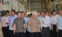 Party, State leader works with key leaders of Kien Giang