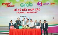 Vietjet, Swift 247, Grab to develop solutions for road, air mobility