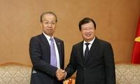 Deputy PM pledges favorable conditions for Japanese investors