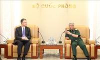 Vietnam, US hold defence consultation