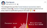 Czech goalie applauds Vietnam's victory over Indonesia