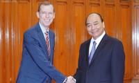 Prime Minister receives leader of Harvard Kennedy School