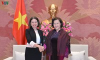 National Assembly Chairwoman hosts Ambassadors of Australia, Republic of Korea