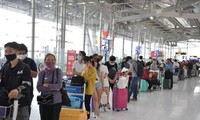 Vietnamese citizens repatriated from the Philippines