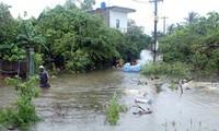 Central region battles floods