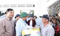 Prime Minister visits residents affected by flooding