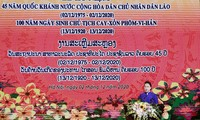 Special relations between Vietnam and Laos last forever