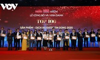 Vietnam's 100 products and services of 2020 announced
