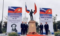 Statue of Russian poet inaugurated in Hanoi