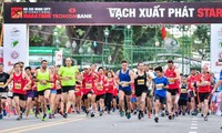 13,000 athletes compete at HCM City International Marathon