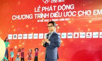 Fund-raising program launched for education of disadvantaged people