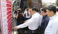 National Assembly Chairman inspects election preparation in Quang Ninh
