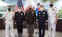 US, South Korea, Japan pledge to strengthen military cooperation