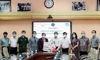 Pharmaceutical company donates 10,000 COVID-19 test kits