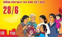 President highlights family values as Vietnam marks Family Day