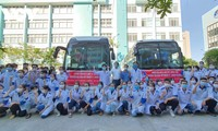 Da Nang sends medical personnel to help Phu Yen fight COVID-19