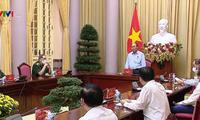 President underlines Vietnam's major policy of paying debts of gratitude