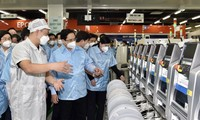 Prime Minister Pham Minh Chinh works in Thai Nguyen province