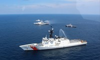 Philippines, US conduct maritime drill near East Sea